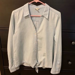 Soft Joie chambray top